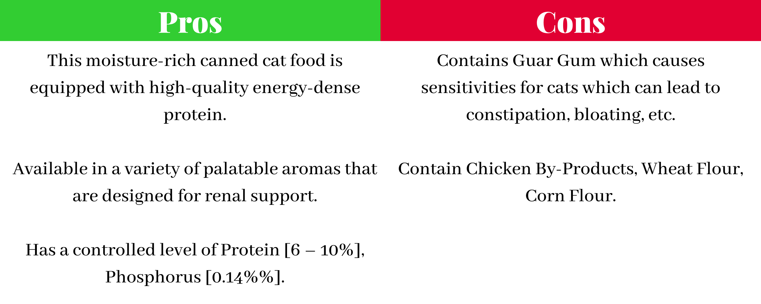 Pros and Cons of Royal Canin Veterinary Diet Feline Renal Support D Morsels in Gravy Canned Cat Food